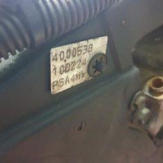 Motor Peugeot 807 2.2 HDI 2005 ref 4HW