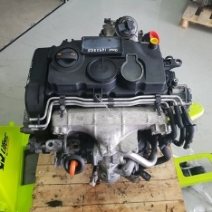 Motor Audi A4 2.0 TDI 2008 170CV ref BMN