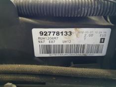 Motor BMW 2.0D 123D E87 2012 de 208cv, ref N47D20D
